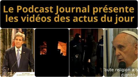 Les actualités en 4 vidéos du 16 janvier 2015