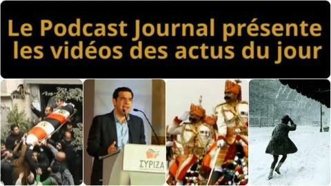 Les actualités en 4 vidéos du 26 janvier 2015