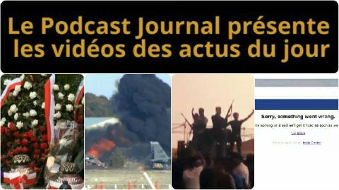 Les actualités en 4 vidéos du 27 janvier 2015