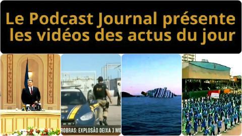 Les actualités en 4 vidéos du 12 février 2015