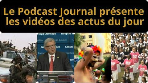 Les actualités en 4 vidéos du 13 février 2015