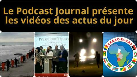 Les actualités en 4 vidéos du 16 février 2015