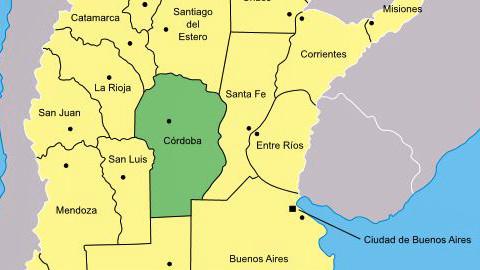 La région de Cordoba