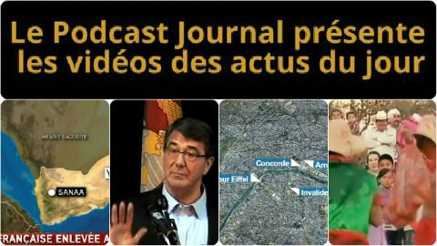 Les actualités en 4 vidéos du 24 février 2015
