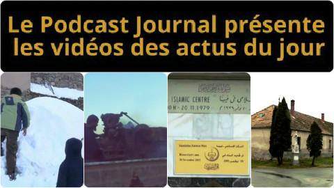 Les actualités en 4 vidéos du 26 février 2015