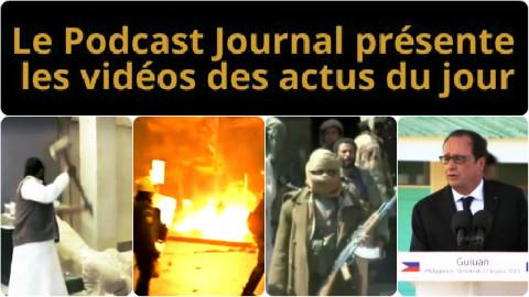 Les actualités en 4 vidéos du 27 février 2015
