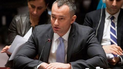 Le Représentant spécial du Secrétaire général pour l'Irak, Nickolay Mladenov. Photo (c) Amanda Voisard / ONU