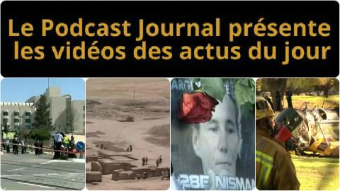 Les actualités en 4 vidéos du 6 mars 2015