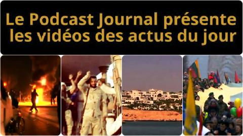 Les actualités en 4 vidéos du 12 mars 2015