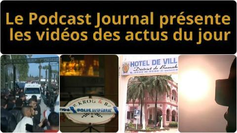 Les actualités en 4 vidéos du 19 mars 2015