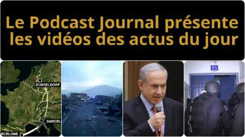 Les actualités en 4 vidéos du 24 mars 2015