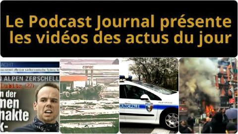 Les actualités en 4 vidéos du 27 mars 2015