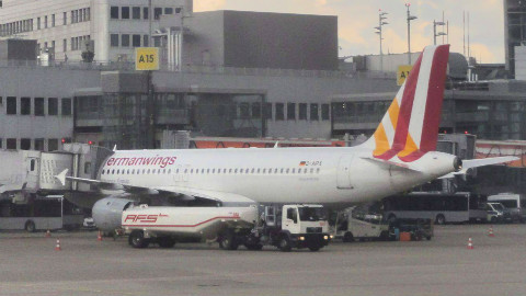 Un Airbus A320 de la compagnie low cost Germanwings de Lufthansa. Photo (c) RSA