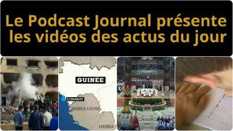 Les actualités en 4 vidéos du 13 avril 2015