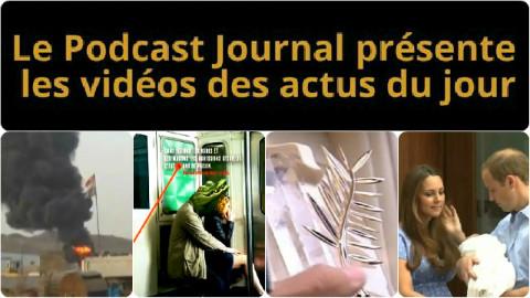 Les actualités en 4 vidéos du 17 avril 2015