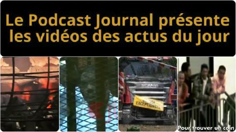 Les actualités en 4 vidéos du 21 avril 2015