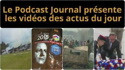 Les actualités en 4 vidéos du 8 mai 2015