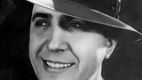 Portrait de Carlos Gardel, 1933. Photo (c) José María Silva