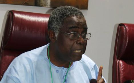 Prof Abel Afouda, Président du Partenariat régional de l'eau de l'Afrique de l'ouest. Photo: Alain Tossounon