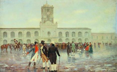 La Revolución de Mayo par l'artiste Francisco Fortuny.