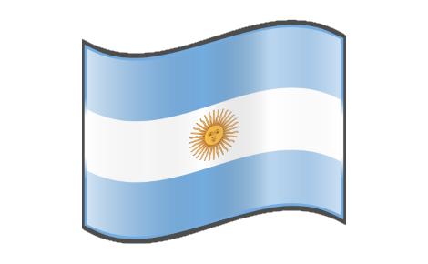 Drapeau argentin.