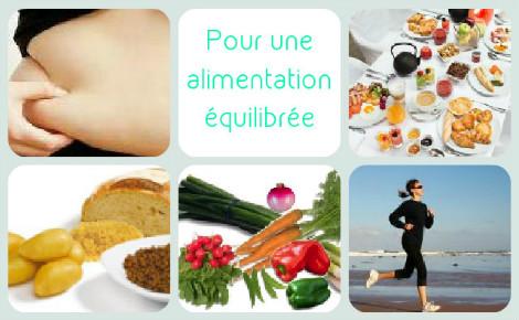 Comment avoir une alimentation équilibrée?