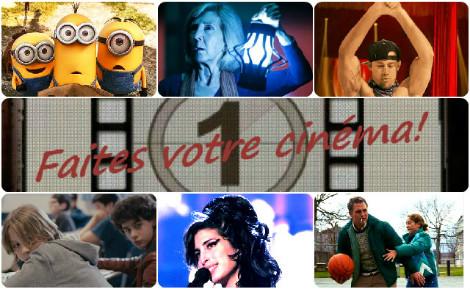 Faites votre cinéma! Semaine du 8 au 14 juillet