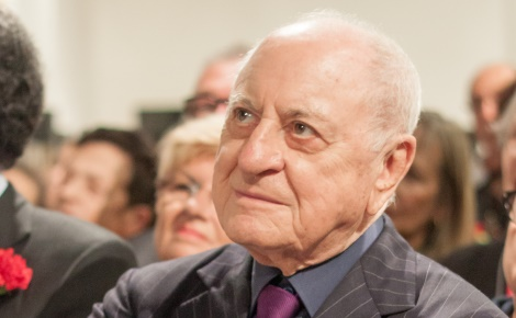 Pierre Bergé. Photo (c) Matthieu Riegler