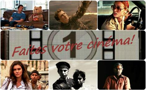 Faites votre cinéma! Semaine 5 au 11 août