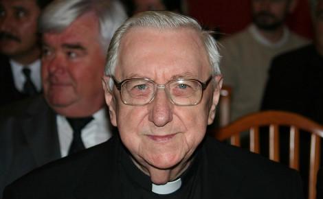 L'archevêque Laszlo Paskai. Photo (c) Gábor Bejó