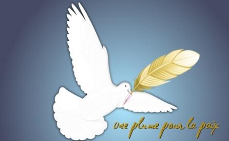 Cliquez ici pour utiliser votre plume pour la paix!