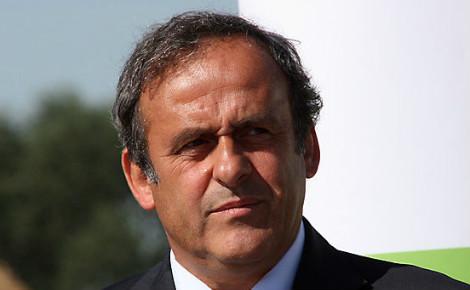 Michel Platini. Photo (c) Klearchos Kapoutsis