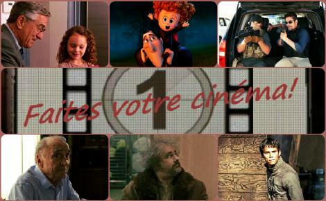 Faites votre cinéma! Semaine du 7 au 13 octobre