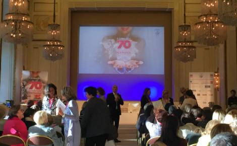 Les 70 ans de la FCE à Paris. Photo: F.D.