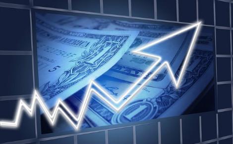 Les agents de change notent une demande massive d'achat de dollars. Image d'illustration libre de droits.