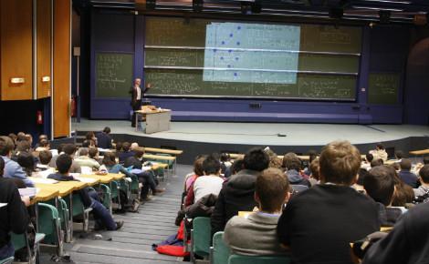 Cours à l'École Polytechnique. Photo (c) Jérémy Barande