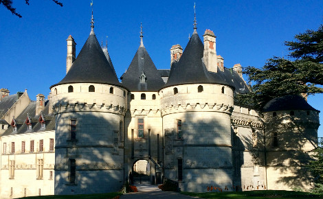 Château de Chaumont-sur-Loire. Photo (c) A. Hubert