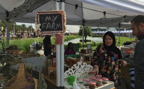 Les quelques producteurs fermiers du nord et du sud de l'émirat proposent une alternative nutritionnelle saine aux citadins koweïtiens. Photo (c) Bulent Inan
