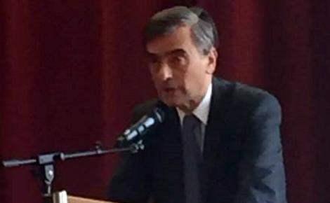 Georges Karolyi, ambassadeur de Hongrie en France. Photo (c) Sabrina Belkhiter.