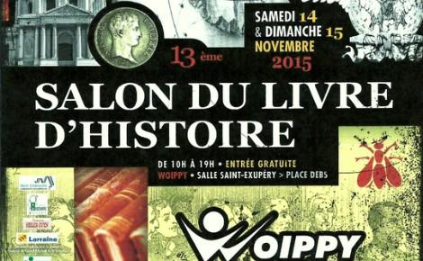Extrait de l'affiche de la 13e édition du Salon du livre d'histoire. Photo (c) Ville de Woippy