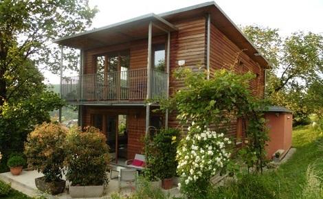 La troisième maison passive contruite en France est celle de Philippe Perrin. Photo (c) P. Perrin