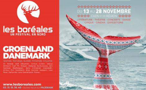Affiche officielle des Boréales 2015 (c) LEKLUB. Cliquez ici pour accéder au site officiel et à la programmation