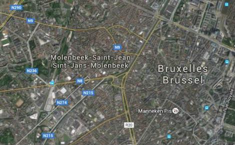 Situation géographique de Molenbeek. Cliquez ici pour consulter la carte