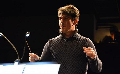 Samuel Fernandez à la direction. Photo (c) M. Marchand-Moury