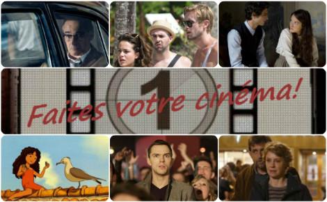 Faites votre cinéma! Semaine du 2 au 8 décembre