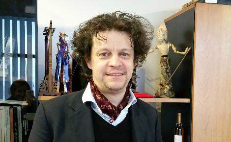 Laurent Augier est responsable du master Économie et Commerce International en LEA à l'Université de La Rochelle. Photo (c) ULR. Cliquez ici pour accéder au site