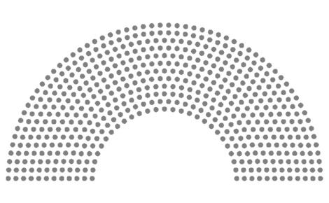 Hémicycle. Illustration du domaine public.