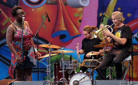 Abigoba s'est produit au festival Jazz à Vienne. Photo (c) Abigoba. Cliquez ici pour accéder au site officiel du groupe