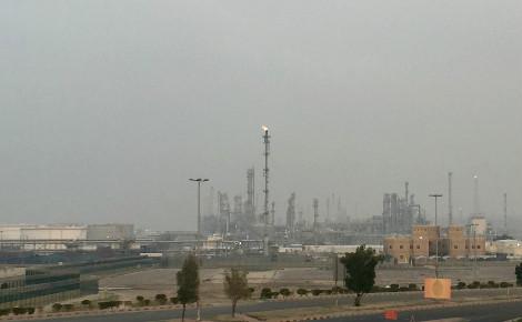 La raffinerie de pétrole Ash Shuaybah, au sud du Koweït. Photo (c) Bulent Inan.
