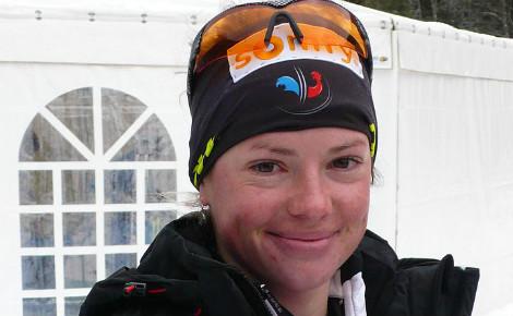 Marie Dorin-Habert a remporté deux médailles d'or lors de ces championnats du monde, une première en France. Photo (c) Manuguf